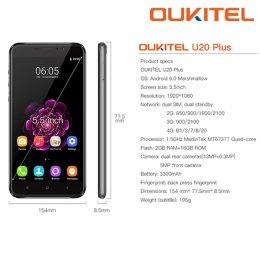 Oukitel U20 Plus 13