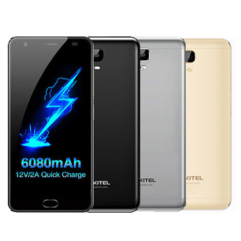 Oukitel K6000Plus Android7.0 6080mAh MT6750T 8core 4GB 64GB