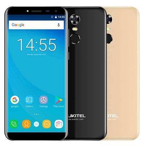 Oukitel SmartPhone HD 5.5 inch Infinity display 18:9 android 7.0 2GB 16GB 3000mAh