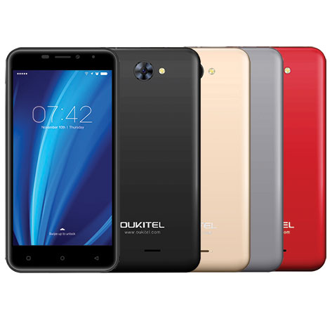 Oukitel C9 Smartphone Android 7.0 5inch HD 1GB 8GB DualSIM