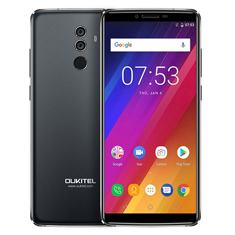 Oukitel K8 Smartphone 4G Android 8.1 5000mAh black 01