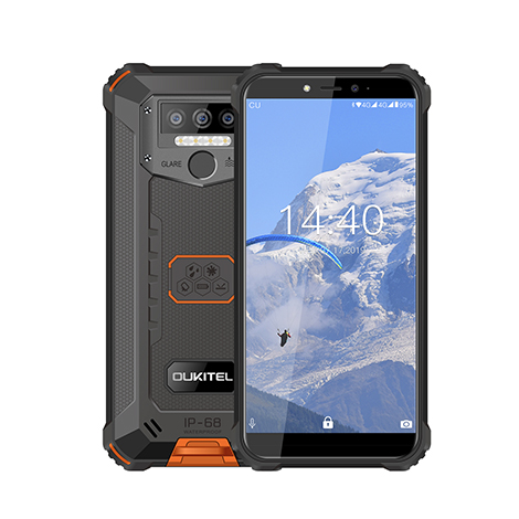 Oukitel WP5 Rugged IP68 waterproof smartphone 4G MT6761 3GB 32GB 8000mAh Android 9.0 01