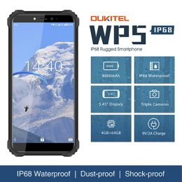 Oukitel WP5 Rugged IP68 waterproof smartphone 4G MT6761 3GB 32GB 8000mAh Android 9.0 04