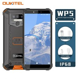 Oukitel WP5 Rugged IP68 waterproof smartphone 4G MT6761 3GB 32GB 8000mAh Android 9.0 05