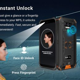 Oukitel WP5 Rugged IP68 waterproof smartphone 4G MT6761 3GB 32GB 8000mAh Android 9.0 06
