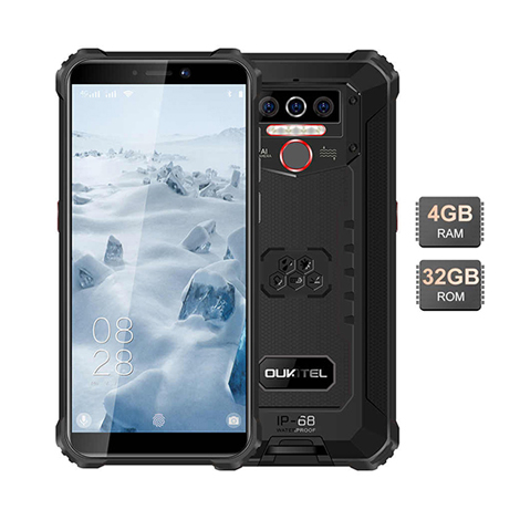 Oukitel WP5 Rugged IP68 waterproof smartphone 4G MT6761 4GB 32GB 8000mAh Android 9.0 001