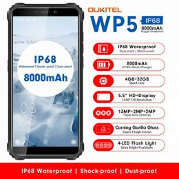 Oukitel_WP5_Rugged_IP68_waterproof_smartphone_4G_MT6761_4GB_32GB_8000mAh_Android_9.0_03