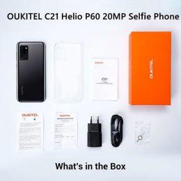 Oukitel C21 4G 6.4inch IPS MT6771 Octa-Core 4GB 64GB 4000mAh Android10.0 13
