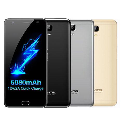 Oukitel K6000Plus Android7.0 6080mAh MT6750T 8core 4GB 64GB