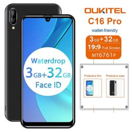 Oukitel_C16pro_5.71inch-IPS_MT6761_Quad-Core_2.0GHz_3GB_32GB_2600mAh_Android9_05