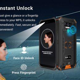 Oukitel WP5 Rugged IP68 waterproof smartphone 4G MT6761 3GB 32GB 8000mAh Android 9.0 06