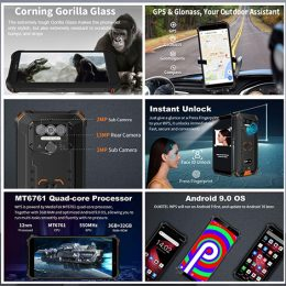 Oukitel_WP5_Rugged_IP68_waterproof_smartphone_4G_MT6761_4GB_32GB_8000mAh_Android_9.0_08