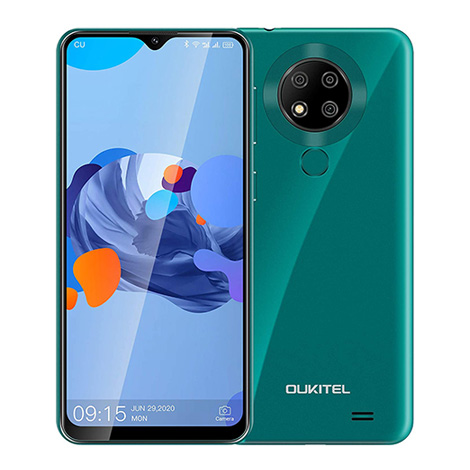 Oukitel C19pro Smartphone 4G 6.49inch IPS MT6762 Octa-Core 2.5GHz 4GB 64GB 4000mAh Android10.0